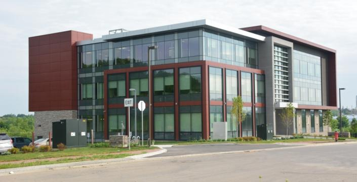 View of the Guelph office from Chancellors Way