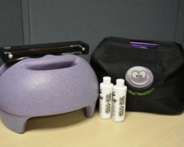 Photo of the Glitter Bug hand washing kit